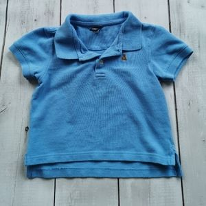 🥳5/$20🥳Baby Gap Brannan Bear Polo Shirt